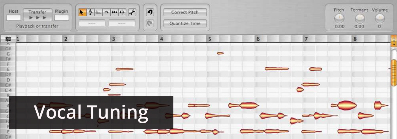 Online Studio for Vocal Tuning